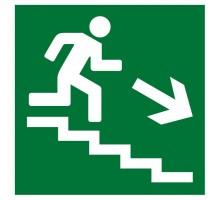 Плёнка (Е-13) направление к эвакуационному выходу по лестнице вниз