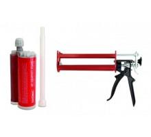 Комплект (двухкомпонентная огнестойкая пена + пистолет) (DN1220)
