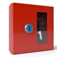 Ключница на 1 ключ (К-01) (красная)