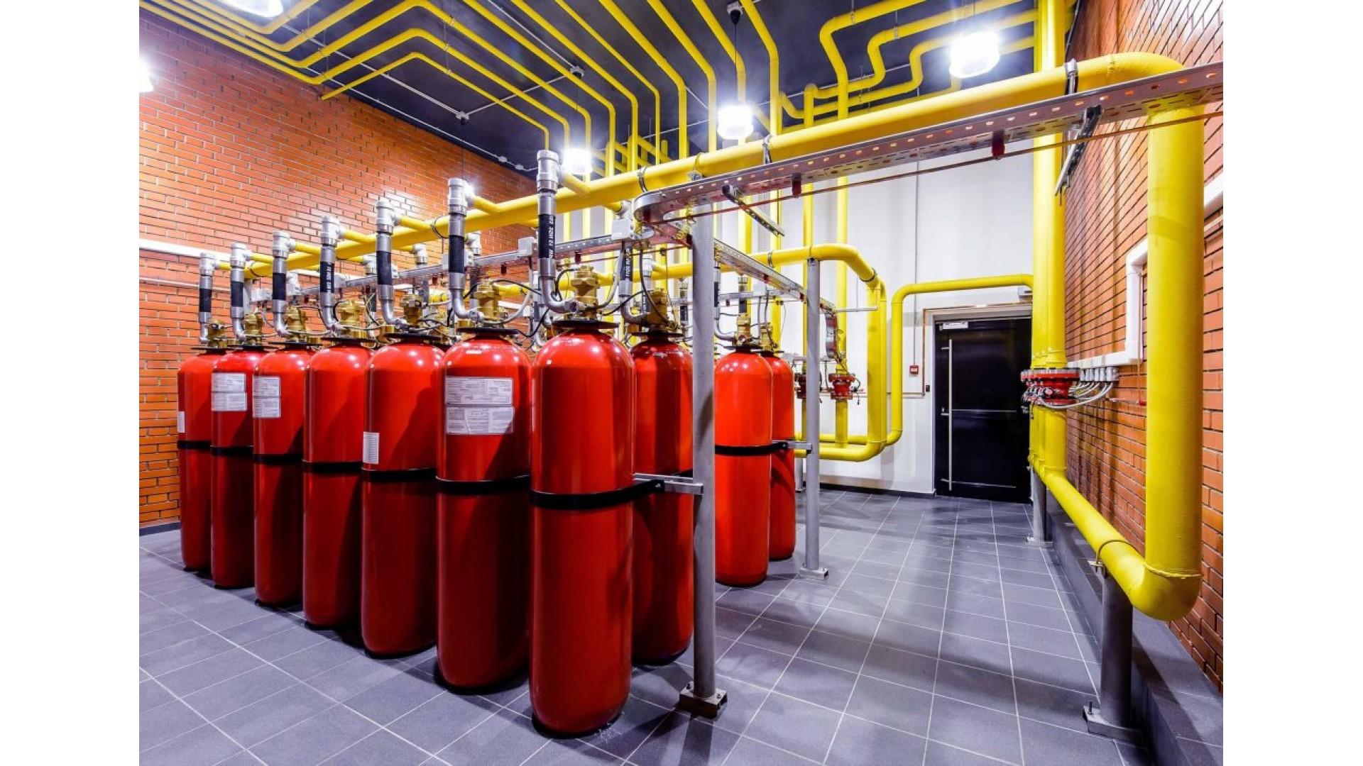 Системы автоматического пожаротушения